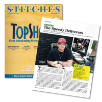 Stitches Magazine: Top Contract Screen Printer 2015
