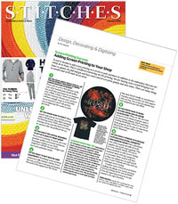 Stitches Magazine: Adding In-House Screen Printing to Your Embroidery Shop