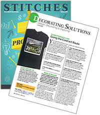 Stitches Magazine: Going the Contract Route