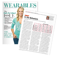 Wearables Magazine: In The Schedule